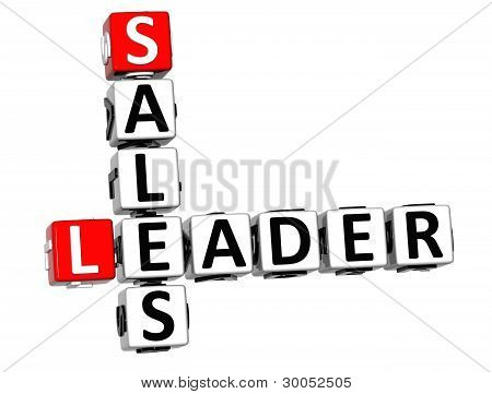 3D Leader Sales Crossword