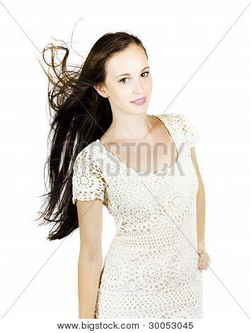 Glamour Fashion Model