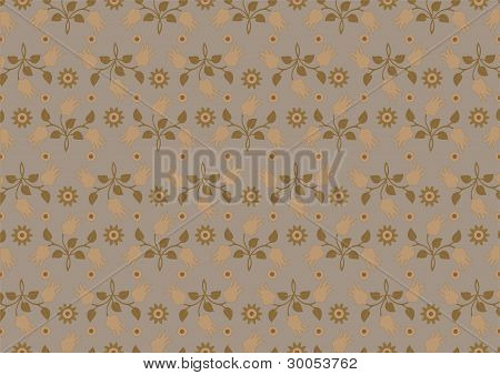 Bouquets of yellow flowers in the background with brown shades.Background