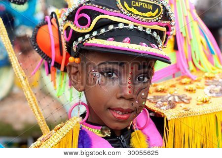 Female Carnival Captain