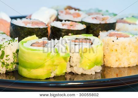 Close Up Of Sushi