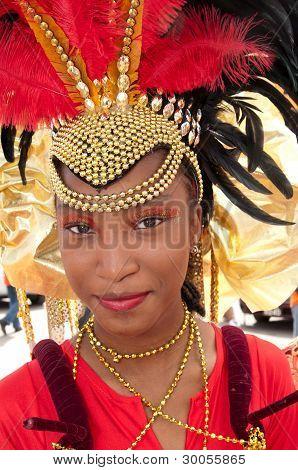 Beatiful Carnival Portrait
