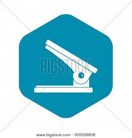 Office Paper Hole Puncher Icon. Simple Illustration Of Office Paper Hole Puncher Vector Icon For Web