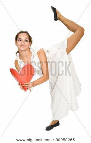 Beautiful Dancer In Tunic.