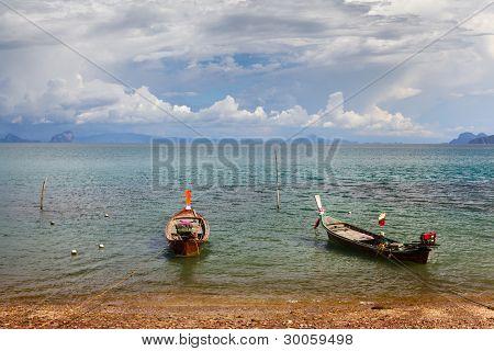 Thai Long Boats