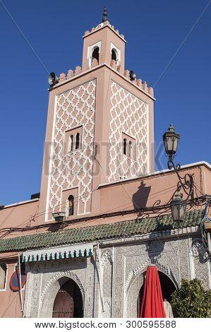 Old Mosque In Marrakesh. Marrakesh, Marrakesh-safi, Morocco.