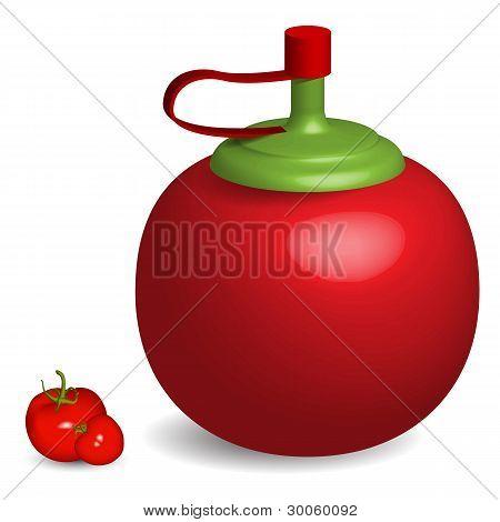 Tomatto Sauce Bottle