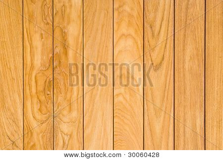 Pattern Of Teak Wood Surface