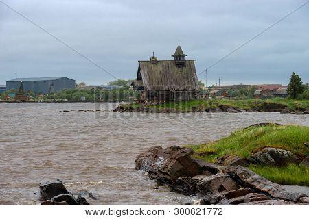 Kem, Republic Of Karelia, Russia - June 24, 2018: