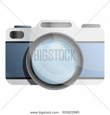 Old Camera Icon. Cartoon Of Old Camera Icon For Web Design Isolated On White Background
