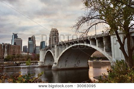 Minneapolis Central Bridge
