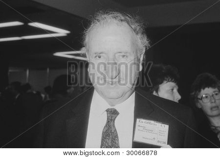 BRIGHTON, ENGLAND - OCTOBER 5: Martin Flannery, Labour party Member of Parliament for Sheffield, Hillsborough, attends the party conference on October 5, 1989 in Brighton, Sussex.