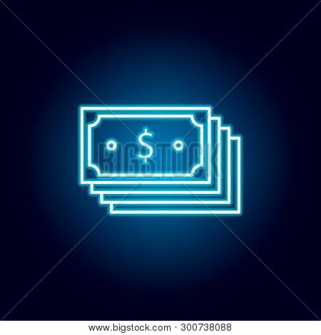 Financial Planning Icon. Element Of Money Diversification Illustration. Signs And Symbols Icon For W