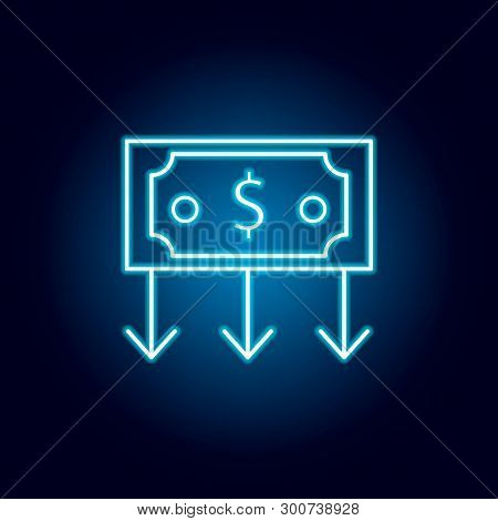 Investment Concept Icon. Element Of Money Diversification Illustration. Signs And Symbols Icon For W