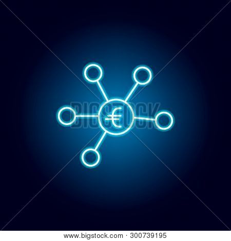 Chain, Collect Diversity Icon. Element Of Money Diversification Illustration. Signs And Symbols Icon