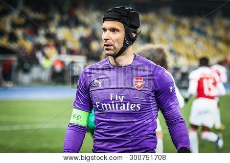 Uefa Europa League Game Vorskla Poltava V Arsenal