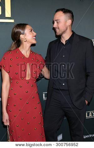 LOS ANGELES - MAY 10:  Joshua Alba, Jessica Alba at the