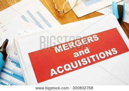 Mergers And Acquisitions M&a Agreement And Business Papers.