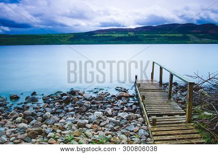 Loch Ness And Isle Of Sky In Scotland Uk
