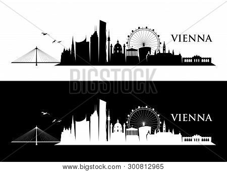 Vienna Skyline - Vector Illustration - Vector