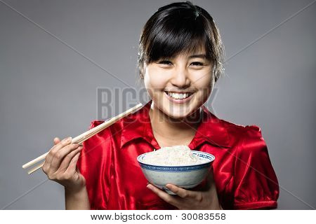 Eating Asian