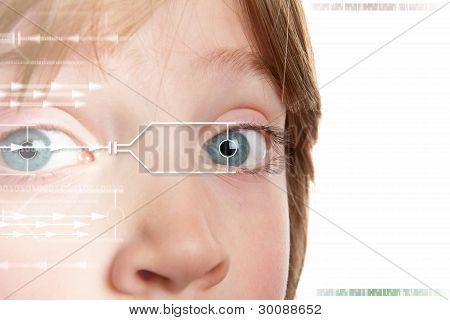 Iris Scan Identity