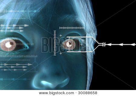 Eye Scan Iris Child