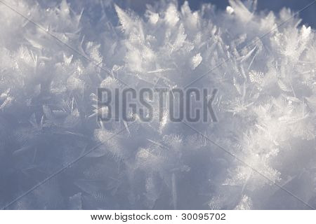 Stucture Of Snow Surface