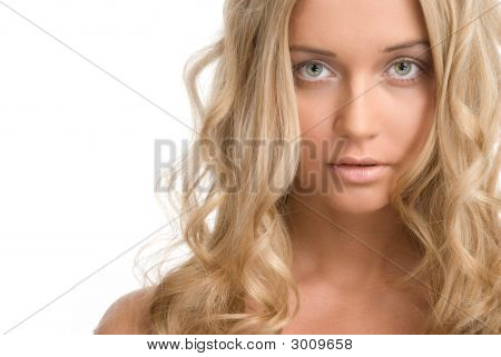 Beautiful Blond Woman