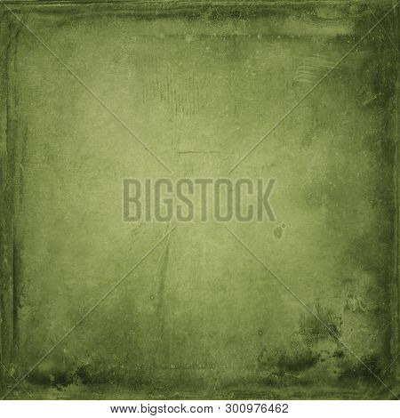 Abstract, Elderly, Ancient ,antique, Fine Art, Background, Green ,empty Swamp Paper Background, Desi