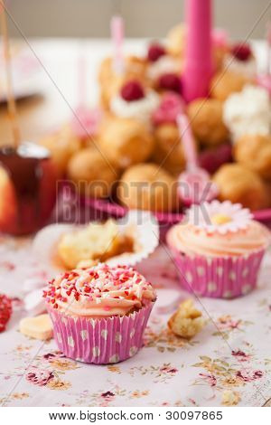 Birthday Cupcake With Sprinkles