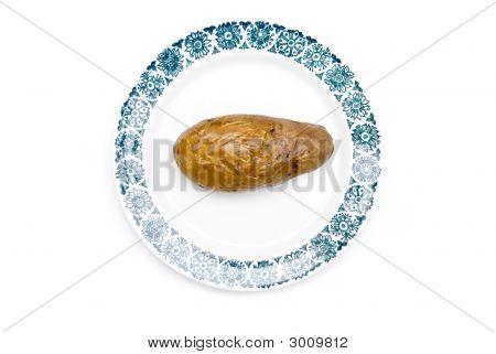 Potato On A Plate