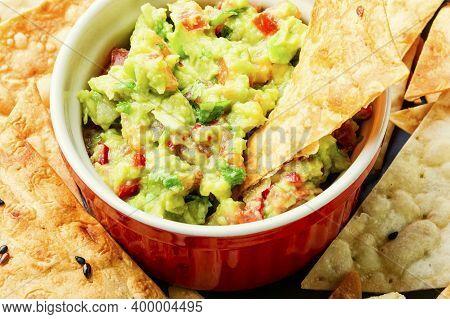 Guacamole,mexican Avocado Appetizer