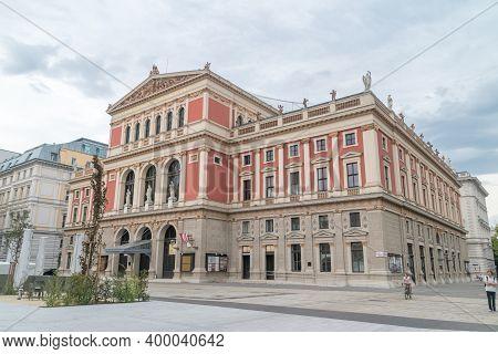 Vienna, Austria - August 30, 2020: Vienna Philharmonic (german: Wiener Philharmoniker).