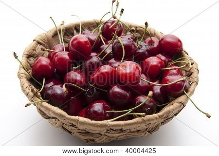Fresh Red Cherries