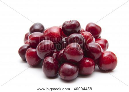 Fresh Red Cherries for eating