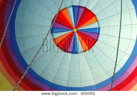 Balloon In Flight Rainbow