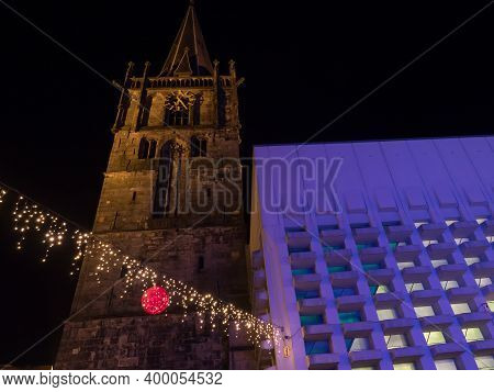 Christmas time in the western german muensterland