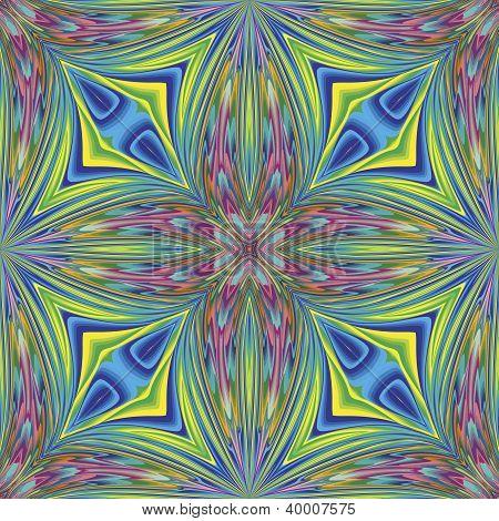 Arabesque vector pattern