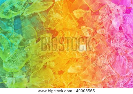 Colorful Crystal Background