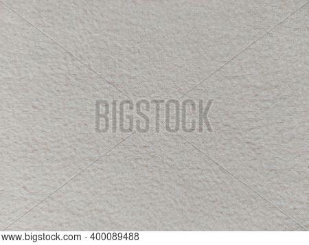 Fleece Plaid Texture. Background Wallpaper Trending Color 2021 Beige.
