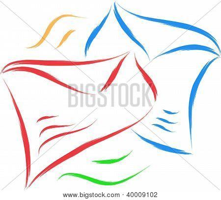 envelope sketch