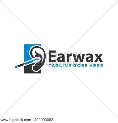 Modern Logo Design Human Ear Cleaner Or Brand