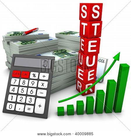 Euroscheine Steuer