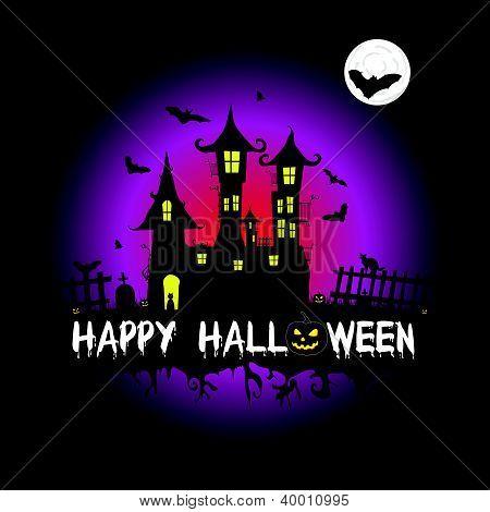 Happy Halloween Vector Illustration Part Two