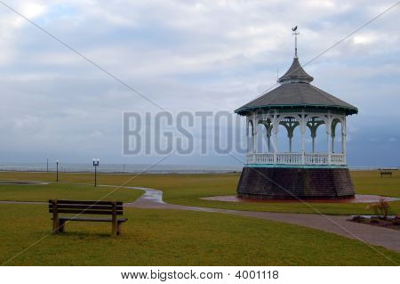 Gazebo On The Ocean