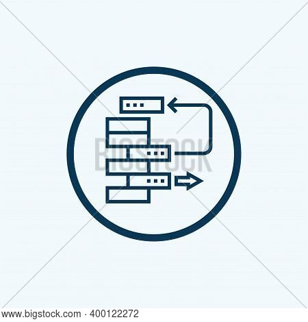Backlog Icon. Line Style Element From Agile Collection. Thin Backlog Icon For Templates, Infographic