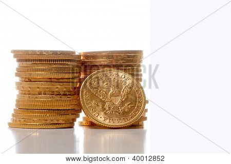 American gold dollar coins