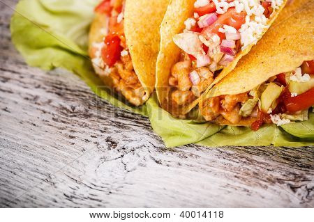 Tacos With Chicken