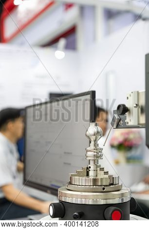 Parts Of Manufacturing Process During Inspection By Automatic Probe Of High Technology And Precision